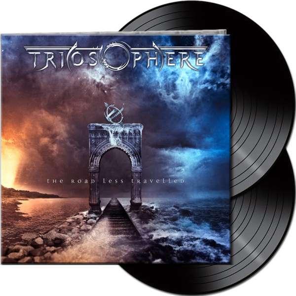 TRIOSPHERE - The Road Less Travelled (Re-Release) - Ltd. Gatefold Black 2-Vinyl