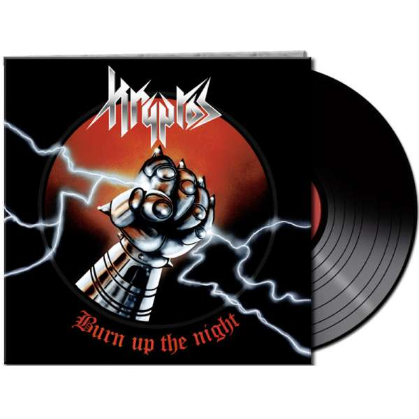 "Kryptos - ""Burn Up The Night"" - Ltd. Gtf. Black Vinyl"
