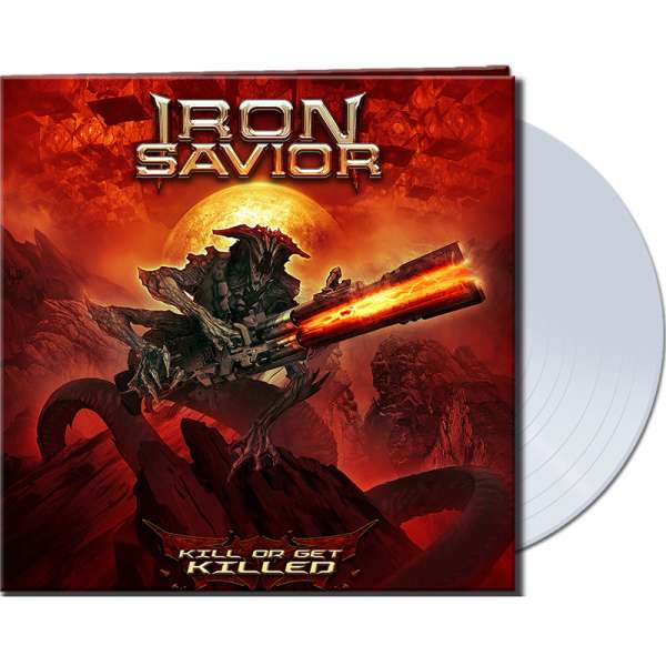 IRON SAVIOR - Kill Or Get Killed - Ltd. Gatefold CLEAR Vinyl