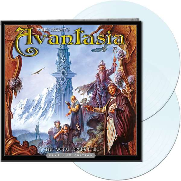AVANTASIA - The Metal Opera Pt. II (Platinum Edition) - Ltd. Gatefold CLEAR 2-LP