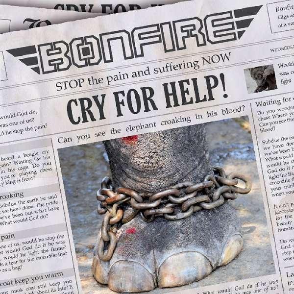 BONFIRE - Cry For Help - EP Digipak