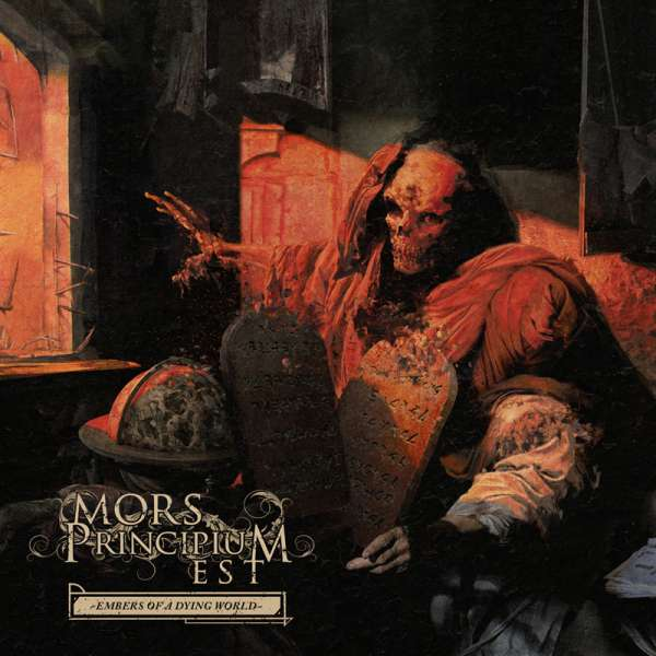 MORS PRINCIPIUM EST - Embers Of A Dying World - CD Jewelcase