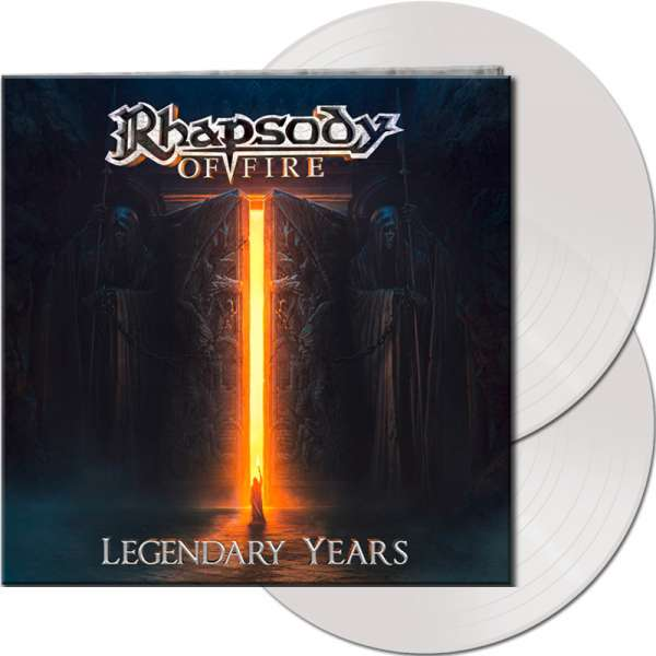 RHAPSODY OF FIRE - Legendary Years - Ltd. Gtf. Clear 2-Vinyl