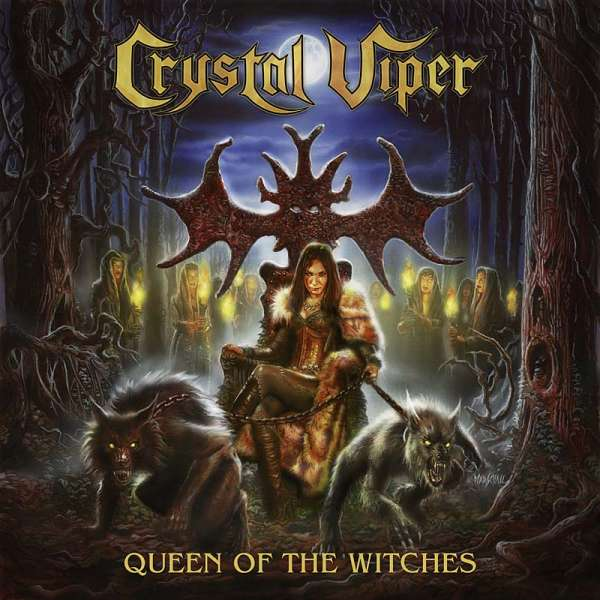CRYSTAL VIPER - Queen Of The Witches - CD Jewelcase