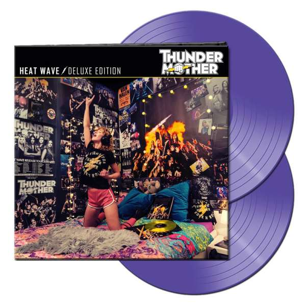 THUNDERMOTHER - Heat Wave (Deluxe Edition) - Ltd. Gatefold PURPLE 2-LP