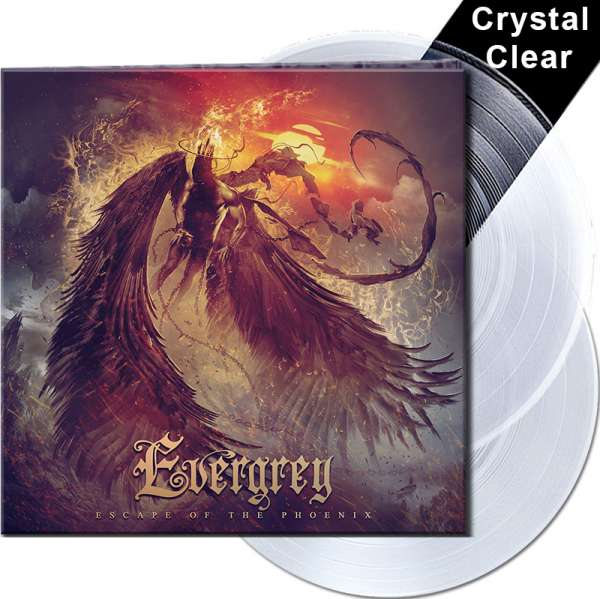EVERGREY - Escape Of The Phoenix - Ltd. Gatefold CRYSTAL CLEAR 2-LP