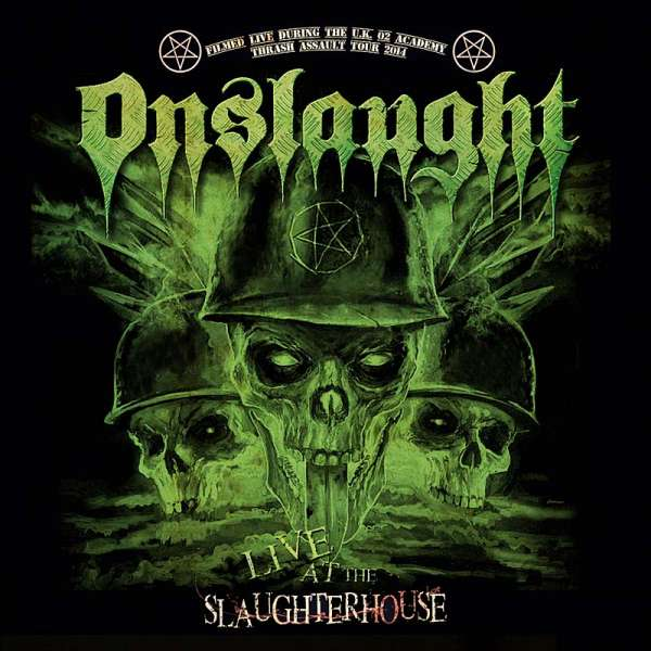 Onslaught - Live At The Slaughterhouse – DVD/CD Digipak