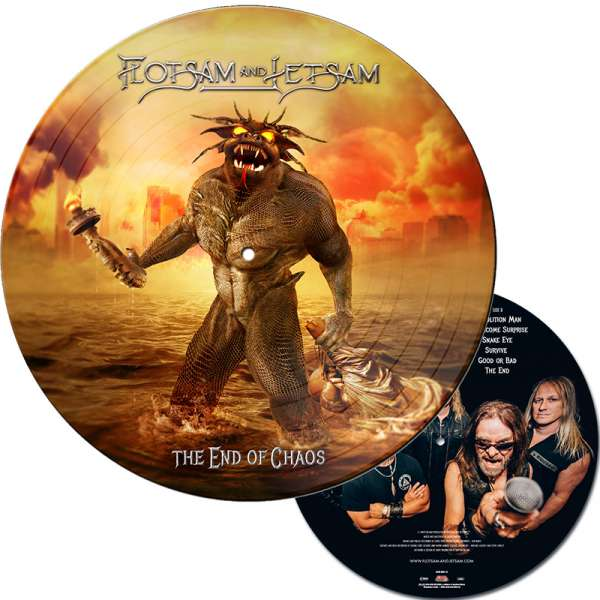 FLOTSAM AND JETSAM - The End Of Chaos - Ltd. PICTURE Vinyl