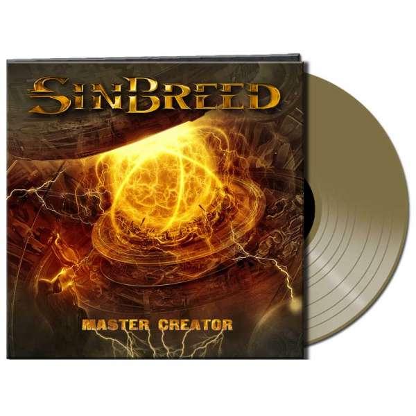 Sinbreed - Master Creator – Ltd. Gatefold Gold Vinyl