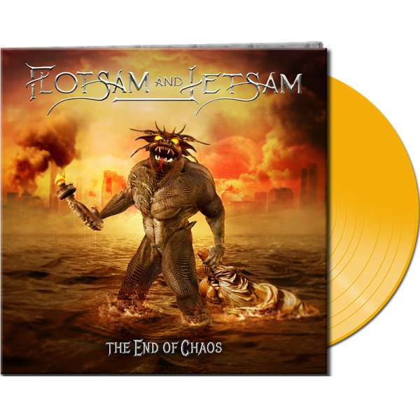 FLOTSAM AND JETSAM - The End Of Chaos - Ltd. Gatefold YELLOW Vinyl