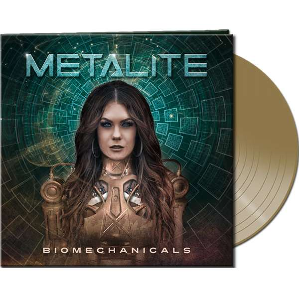METALITE - Biomechanicals - Ltd. Gatefold GOLD Vinyl