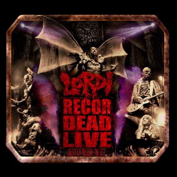 LORDI - Recordead Live - Sextourcism In Z7 - Digipak DVD/2-CD