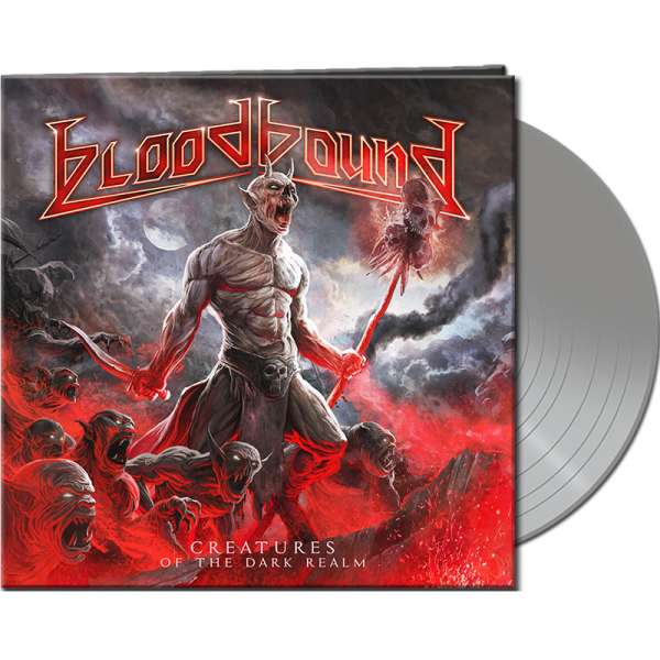 BLOODBOUND - Creatures Of The Dark Realm - Ltd. Gatefold SILVER LP
