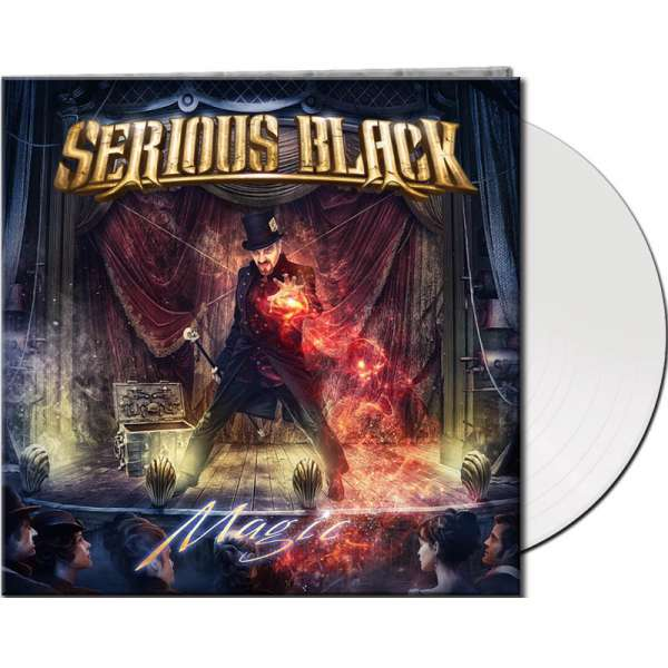 Serious Black - Magic - Ltd. Gtf. White Vinyl