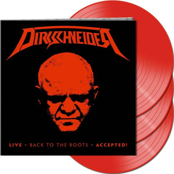 Dirkschneider - Live - Back To The Roots - Accepted! - Ltd. Gtf. Red 3-Vinyl