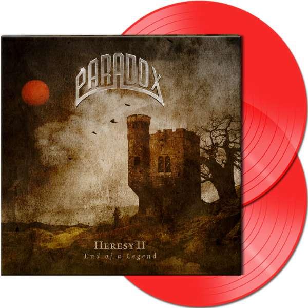PARADOX - Heresy II - End Of A Legend - Ltd. Gatefold CLEAR RED 2-LP
