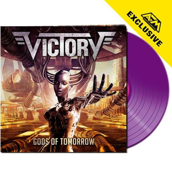 VICTORY - Gods Of Tomorrow - Ltd. Gatefold PURPLE LP - Shop Exclusive!
