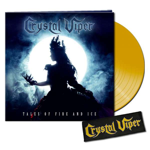 CRYSTAL VIPER - Tales Of Fire And Ice - Ltd. Bundle: CLEAR YELLOW LP + Patch - Shop Exclusive !