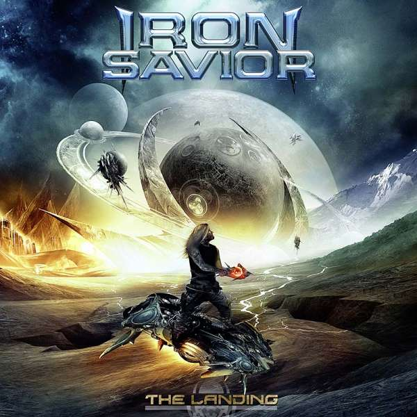 IRON SAVIOR - The Landing - CD Jewelcase
