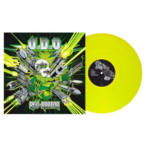 U.D.O. - Rev-Raptor - Ltd. Gtf. Clear-Neon-Yellow Vinyl Re-Release