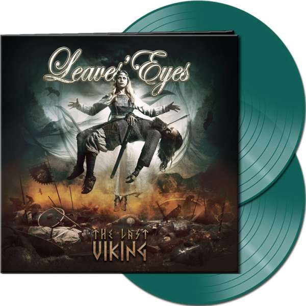 LEAVES' EYES - The Last Viking - Ltd. Gatefold PINEWOOD GREEN 2-LP