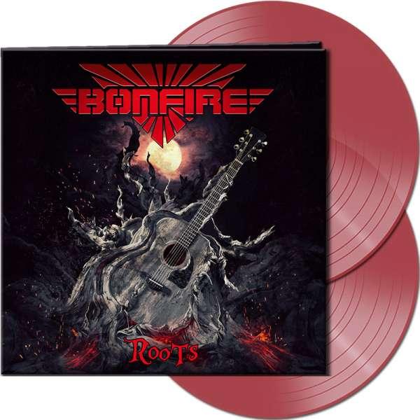 BONFIRE - Roots - Ltd. Gatefold CLEAR RED 2-LP