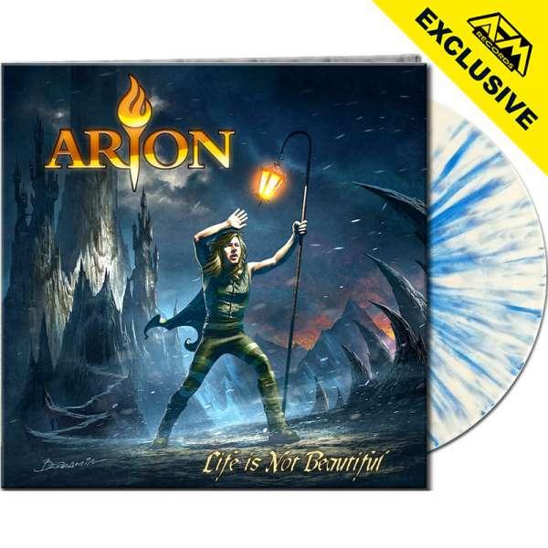 ARION - Life Is Not Beautiful - Ltd. Gatefold WHITE/BLUE SPLATTER Vinyl - AFM Shop Exclusive !