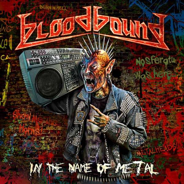 BLOODBOUND - In The Name Of Metal (CD-Digipak)