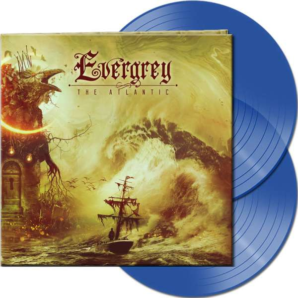 EVERGREY - The Atlantic - Ltd. Gatefold CLEAR BLUE 2-Vinyl