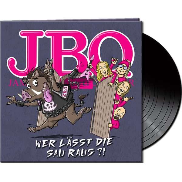 J.B.O. - Wer lässt die Sau raus?! - Ltd. Gatefold BLACK Vinyl