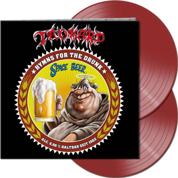 TANKARD - Hymns For The Drunk - Ltd. Gtf. Clear Red 2-Vinyl