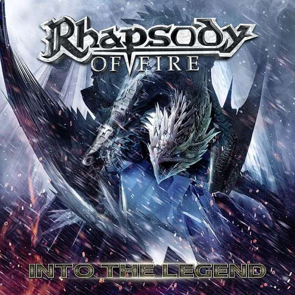 RHAPSODY OF FIRE - Into The Legend - CD Jewelcase