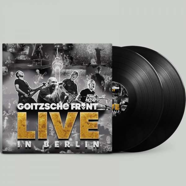 GOITZSCHE FRONT - Live in Berlin - Ltd. Gatefold BLACK 3-LP