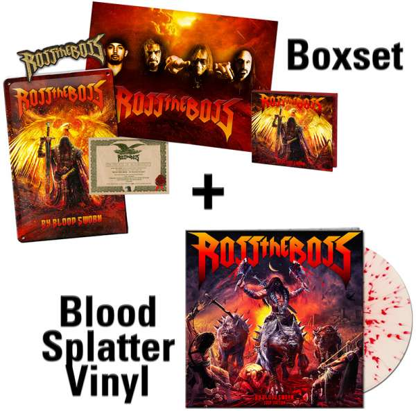 ROSS THE BOSS - By Blood Sworn (Tour Edition) - Ltd.Bundle (Boxset+Splatter Vinyl) - Shop Exclusive