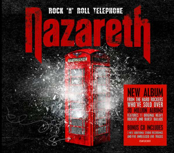 NAZARETH - Rock N Roll Telephone - Deluxe 2-CD Digipak