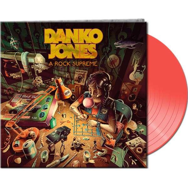 DANKO JONES - A Rock Supreme - Ltd. Gatefold NEON ORANGE LP