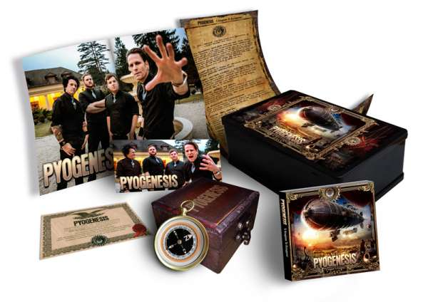 PYOGENESIS – A Kingdom To Disappear - Ltd. Boxset