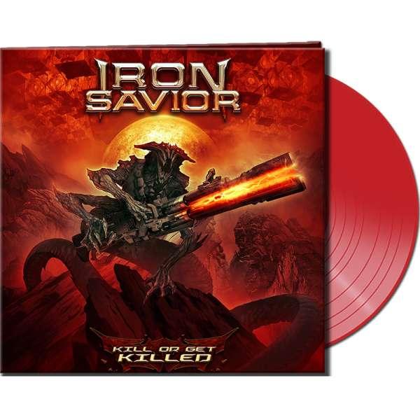 IRON SAVIOR - Kill Or Get Killed - Ltd. Gatefold RED Vinyl