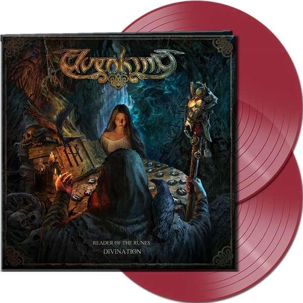 ELVENKING - Reader Of The Runes: Divination - Ltd. Gatefold CLEAR RED 2-LP