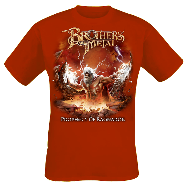 BROTHERS OF METAL - Prophecy Of Ragnarök - T-Shirt M-XXXL - Red