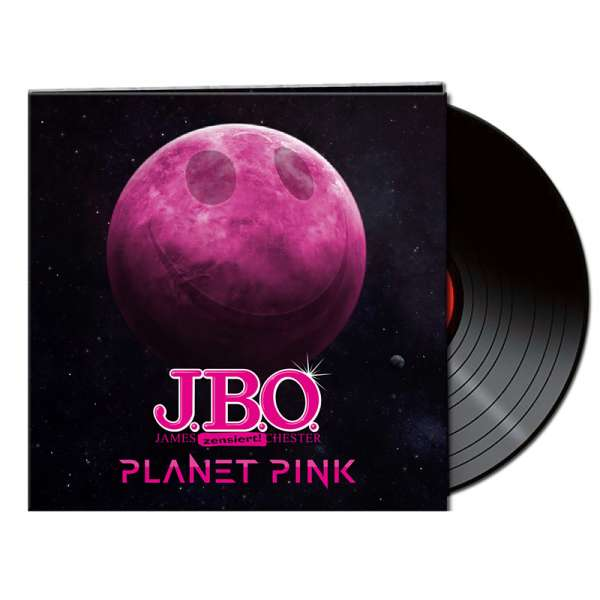 J.B.O. - Planet Pink - Ltd. Gatefold BLACK LP
