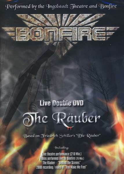 BONFIRE - The Räuber Live - DVD