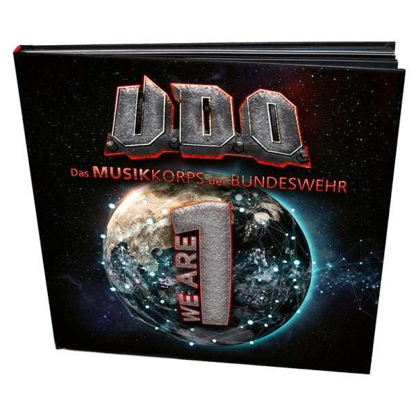 U.D.O. - We Are One - Ltd. Hardcover-Artbook incl.CD+Blu-Ray