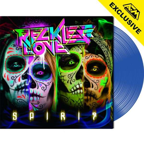 RECKLESS LOVE - Spirit - Ltd. Gatefold TRANS BLUE LP - Shop Exclusive!