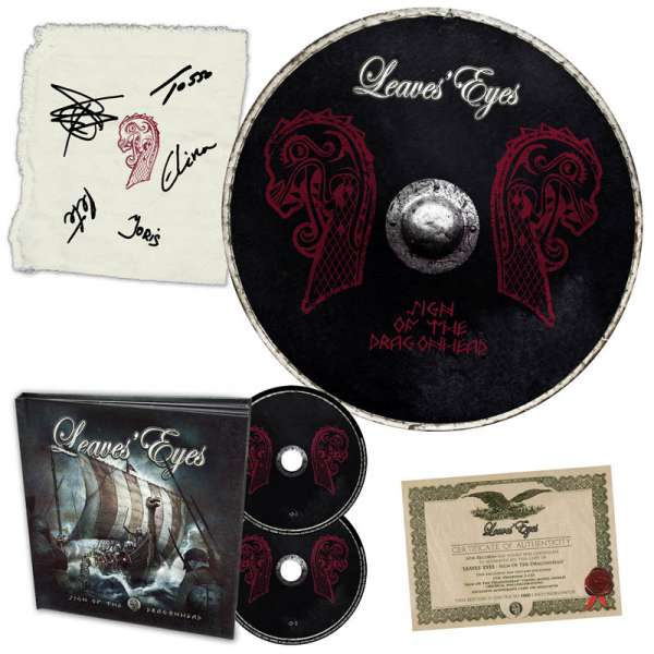 LEAVES' EYES - Sign Of The Dragonhead - Ltd. Boxset