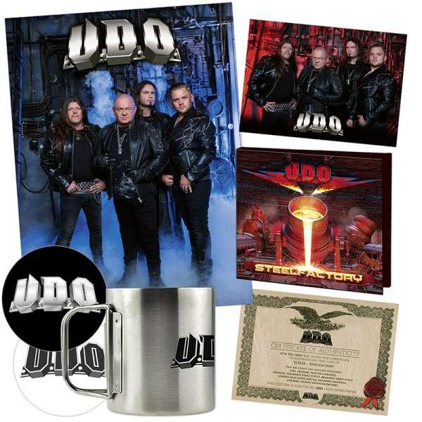 U.D.O. - Steelfactory - Ltd. Boxset