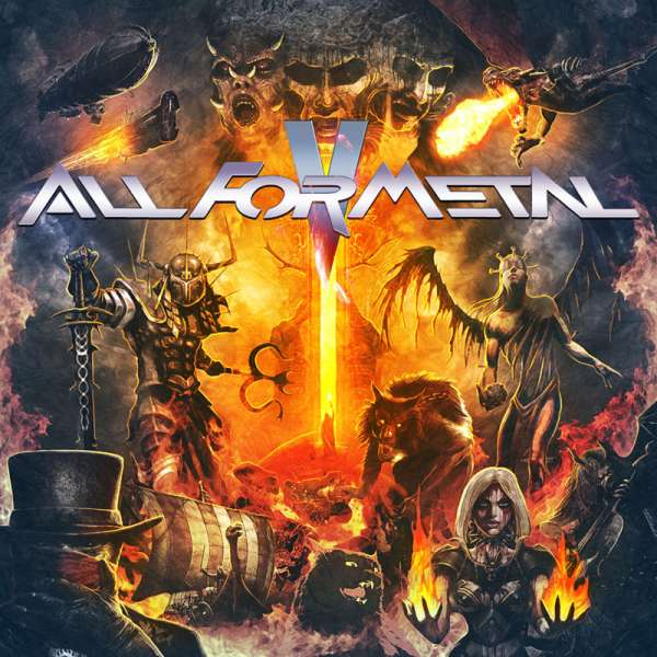 Various Artists - All For Metal Vol.V - DVD+CD