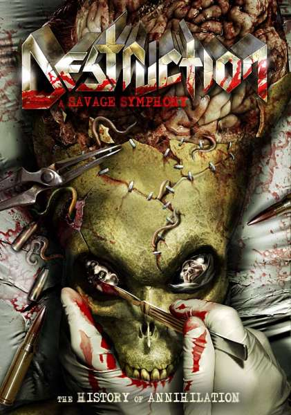 DESTRUCTION - A Savage Symphony (DVD/CD Set)