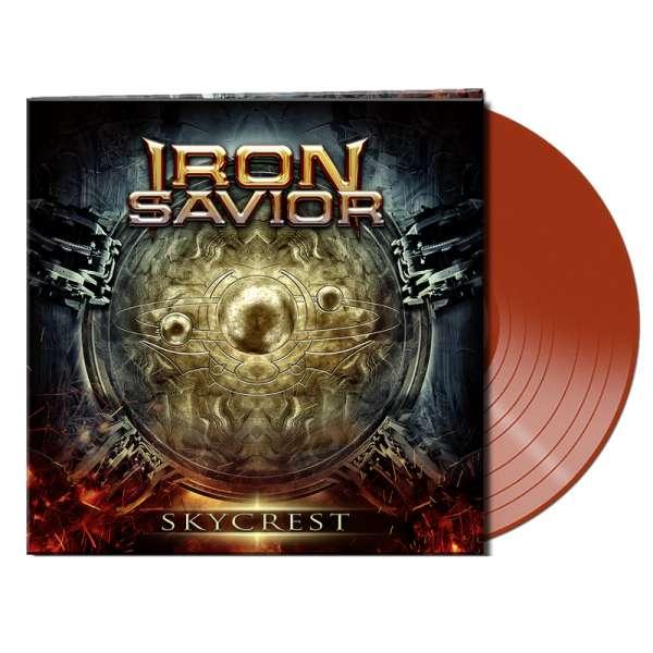 IRON SAVIOR - Skycrest - Ltd. Gatefold BRICK RED Vinyl