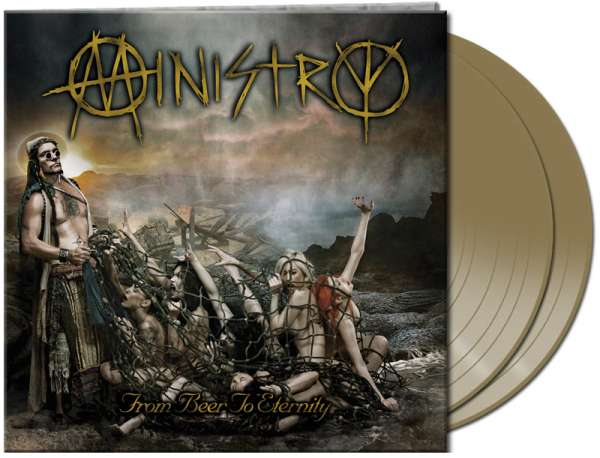 MINISTRY - From Beer To Eternity (2LP - aztec gold)